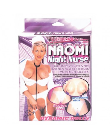 Poupee gonflable Naomi Infirmiere