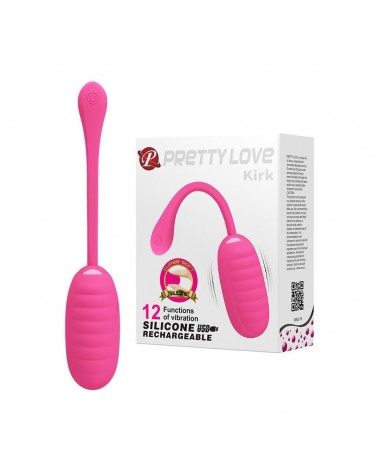 Oeuf Vibrant Rechargeable Kirk Rose